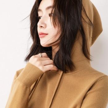 弘扬贝尔 ms-868 长款针织羊毛衫