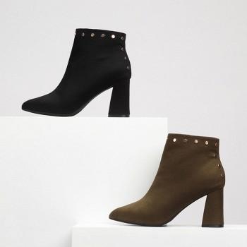 天猫天猫特价:Daphne 达芙妮 冬季新款尖头女靴