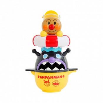 面包超人 层层叠鲸鱼水车杯  可爱的面包超人洗澡玩具,可锻炼宝宝动手