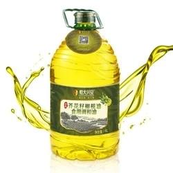 21日0点: 恒大兴安 清香芥花籽橄榄油 调和油 4L