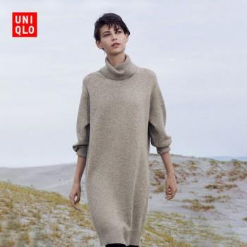 双11预告:UNIQLO 优衣库 409079 羊毛连衣裙