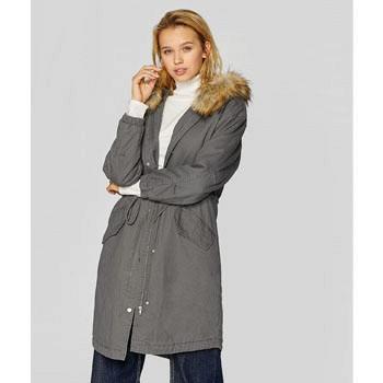天猫Stradivarius 女士加厚工装派克大衣棉服外套