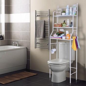 莱朗 浴室多用置物架 3层 50*26*158cm
