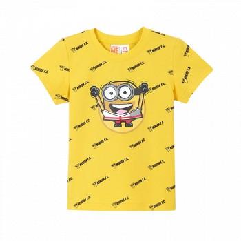 苏宁易购PEPCO 小猪班纳 小黄人IP款儿童T恤
