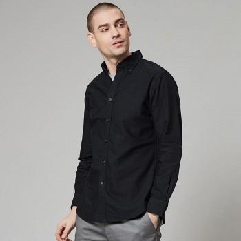 男子经典牛津纺衬衫