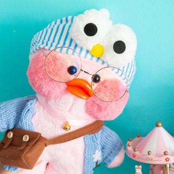 亲子母婴 网红粉色 玻尿酸鸭子毛绒玩具公仔  ins网红鸭子,萌萌哒
