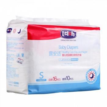京东商城PLUS会员:Lelch 露安适 日夜分护 婴儿纸尿裤 S26片 *14件