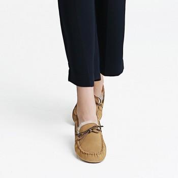 限尺码:InteRight MD1338 女士豆豆鞋
