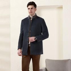 Hodo 红豆 DMGTD011S 男士羊毛混纺大衣