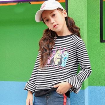 当当网商城芙瑞诺 小马宝莉图案 儿童长袖T恤 *3件