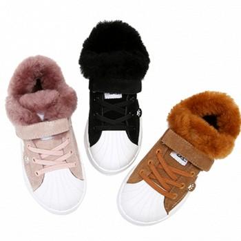 天猫双11预售:Hush Puppies 暇步士儿童加绒休闲鞋