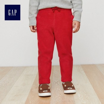 Gap 男小童 加绒休闲裤 304628
