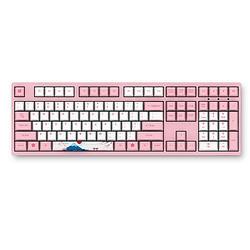 新品发售: Akko 艾酷 3108 v2 世界巡回系列 富士山樱花 机械键盘 国产粉轴