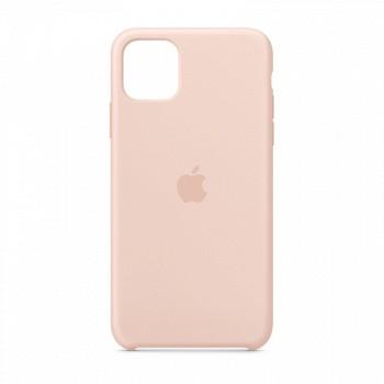 新品发售: Apple 苹果 iPhone 11 Pro Max 硅胶保护壳 粉砂色