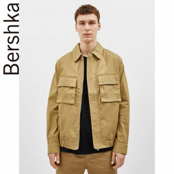 天貓?Bershka 04710111711 男士夾克外套